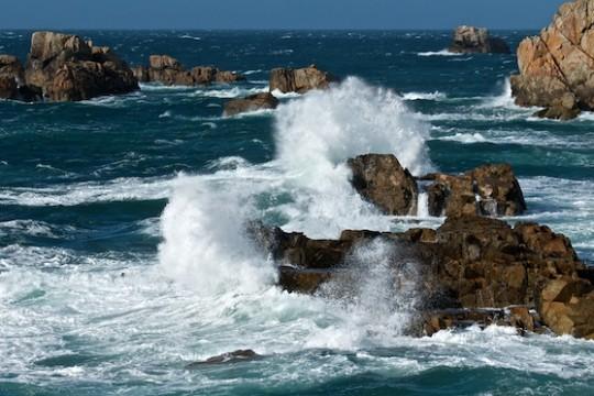 Kalender 2012: Bretonische Bilderflut – auch bei Ebbe